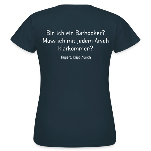 Barhocker-Shirt (Damen) - Frauen T-Shirt