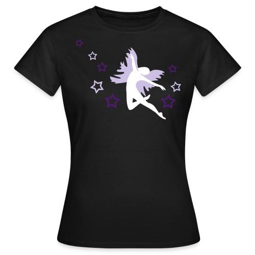 Tanz mit Fee und Sternchen - Frauen T-Shirt