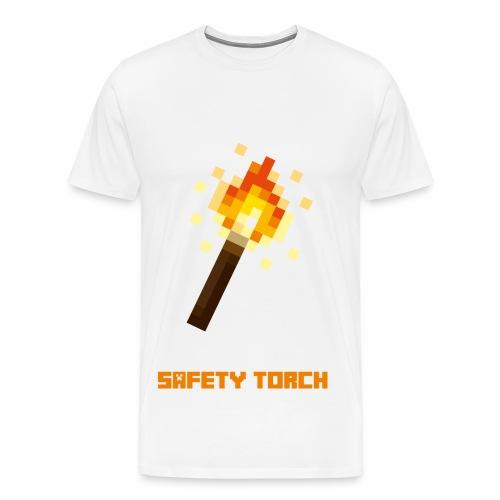 Safety Toarch (weiss) - Männer Premium T-Shirt