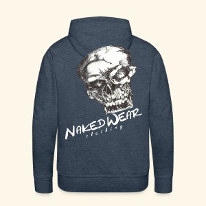 naked to the bone w-edition hoody men - naked wear - Männer Premium Hoodie