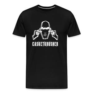 DJ Casketkrusher T-Shirt Male - Men's Premium T-Shirt