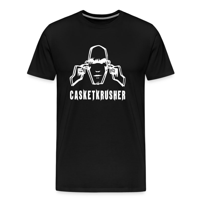 DJ Casketkrusher T-Shirt Male - Men's Premium T-Shirt