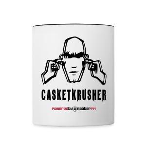 DJ Casketkrusher Coffee Cup - Contrasting Mug