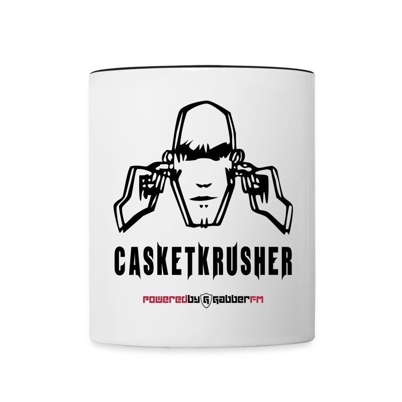 DJ Casketkrusher Coffee Cup - Contrasting Mug