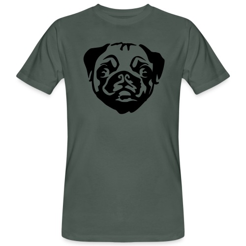 Crazy Pug - Men's Organic T-Shirt