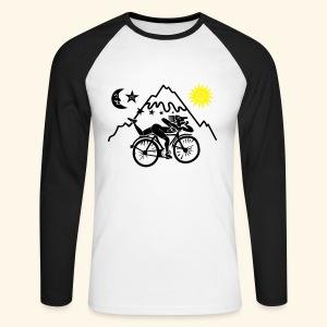 Albert Hofmann Tshirt - Men's Long Sleeve Baseball T-Shirt