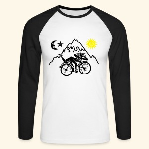 Albert Hofmann Tshirt - Men's Long Sleeve Baseball T-Shirt