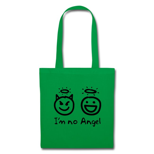 No Angel/Little Devil Tote Bag