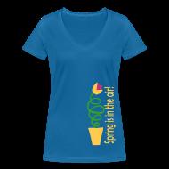 T-shirts ~ Vrouwen T-shirt met V-hals ~ Productnummer 27648023