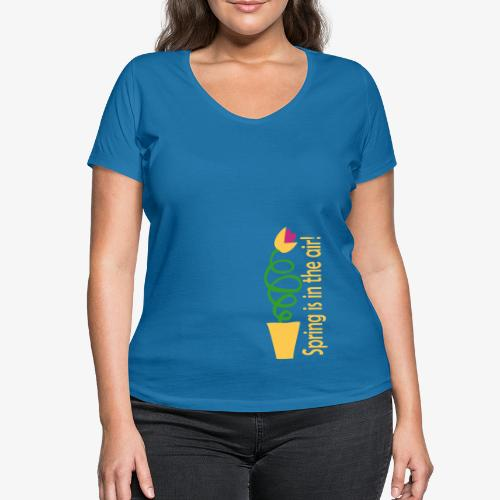 Women's Organic V-Neck T-Shirt by Stanley & Stella