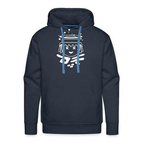 DF Kapuzenpulli Navy - Männer Premium Hoodie