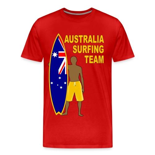 Australia surfing team - Men's Premium T-Shirt