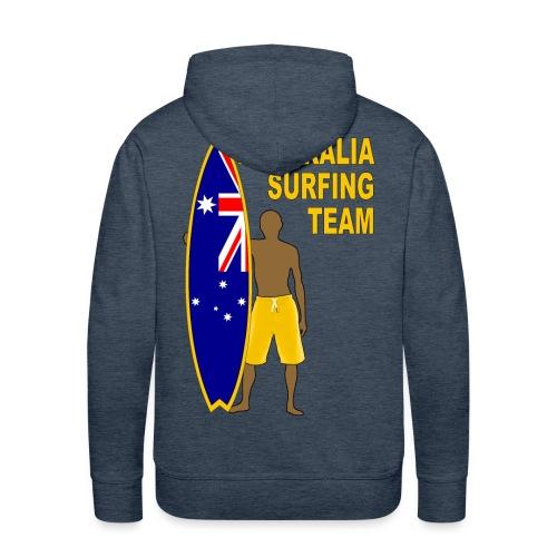 Australia surfing team - Men's Premium Hoodie