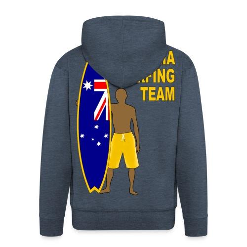 Australia surfing team - Men's Premium Hooded Jacket
