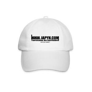 Valkoinen Japyh.com -lippis - Lippalakki