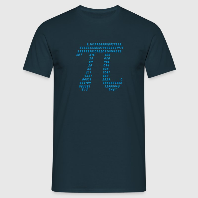 maths Pi science mathématique π nombre irrationnel Tee shirts - T-shirt Homme