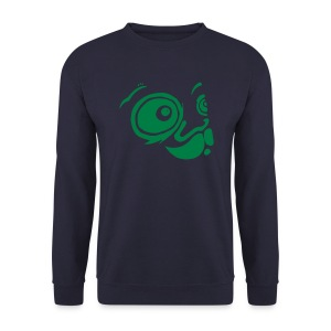 Sweat-shirt Homme - Sweatshirt Mata7ik GreenForstPizza- by www.mata7ik.com