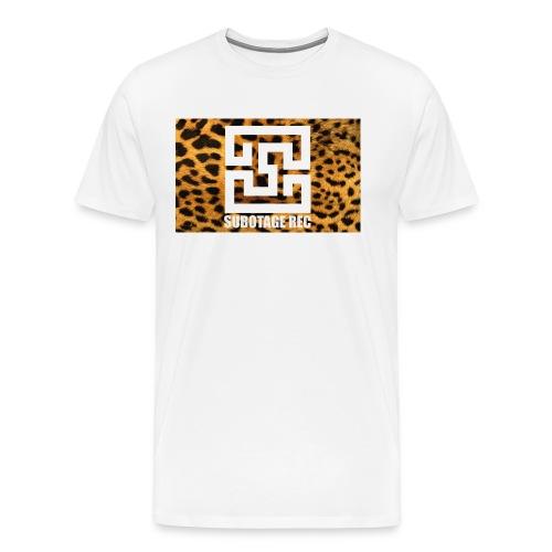 Subtage Leopart - Männer Premium T-Shirt