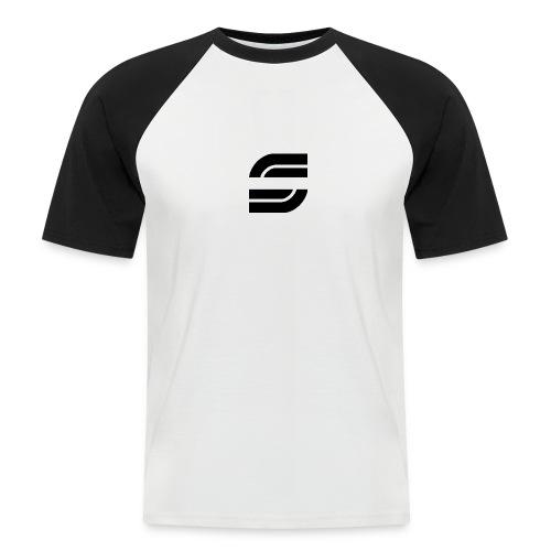 Simple *S Borduniform - Männer Baseball-T-Shirt