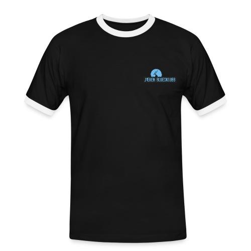 T-Shirt Herre - Kontrast-T-skjorte for menn