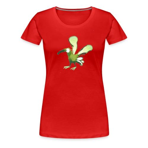 Grünling No.1 - Frauen Premium T-Shirt