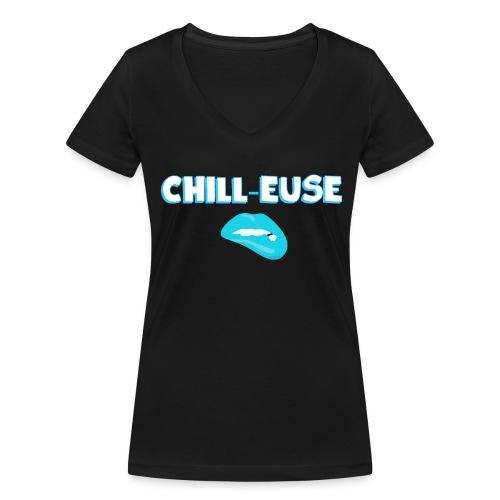 Chill-euse - T-shirt bio col V Stanley & Stella Femme
