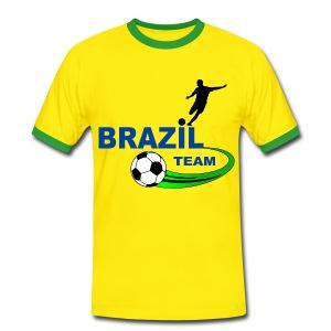 Brazil sport - Men's Ringer Shirt