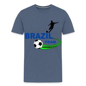 Brazil sport - Teenage Premium T-Shirt
