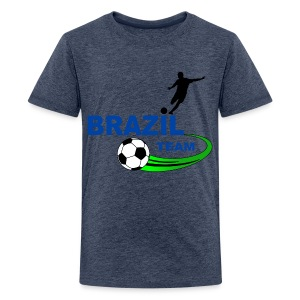 Brazil sport - Teenage Premium T-Shirt