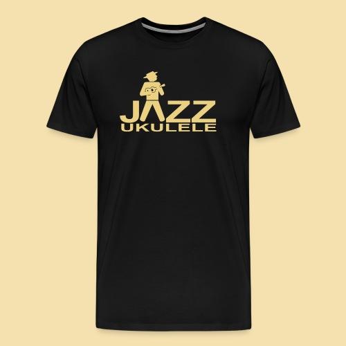 Jazz Ukulele - Männer Premium T-Shirt