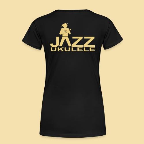 Jazz Ukulele - Frauen Premium T-Shirt