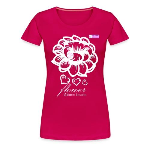 Flower 3H - Camiseta premium mujer
