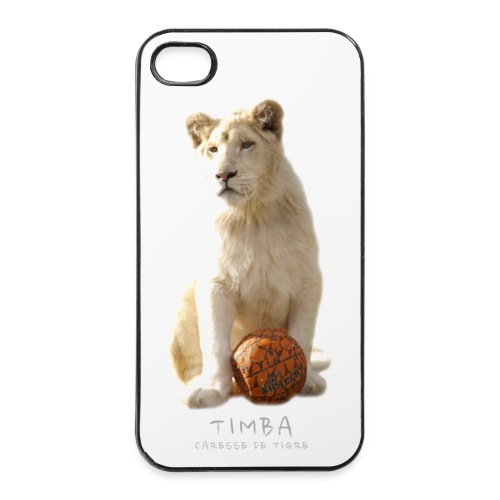 Coque iPhone 4/4S Timba ballon 2 - Coque rigide iPhone 4/4s