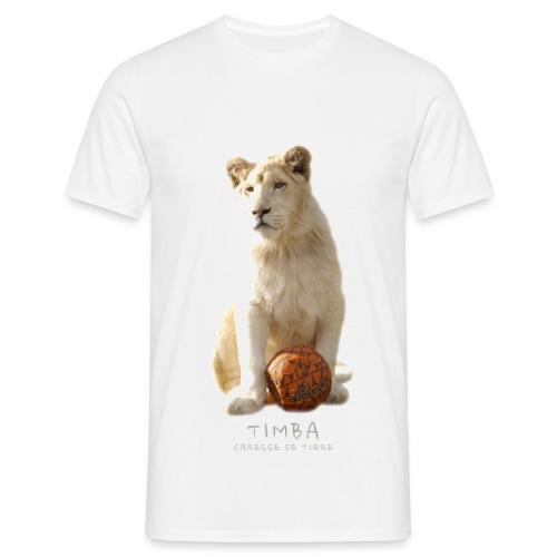T-Shirt Homme Timba ballon 2 - T-shirt Homme
