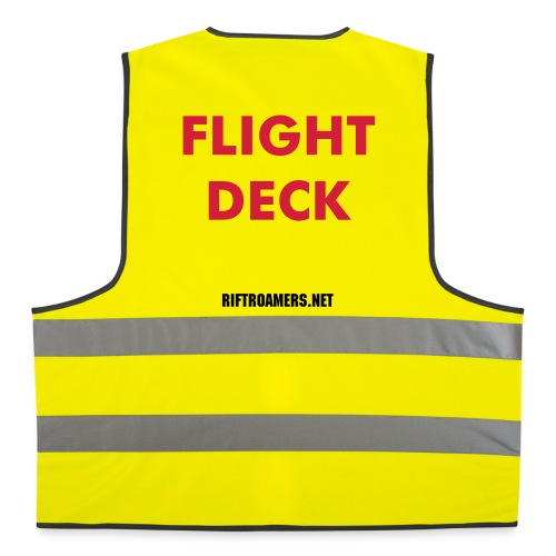 Flight Deck Safety Vest - Warnweste