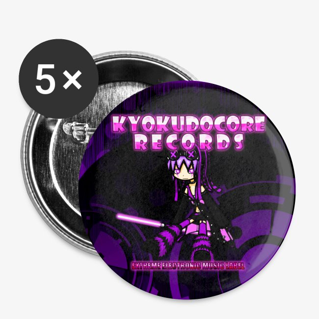 KyokudoCore Records Buttons 2