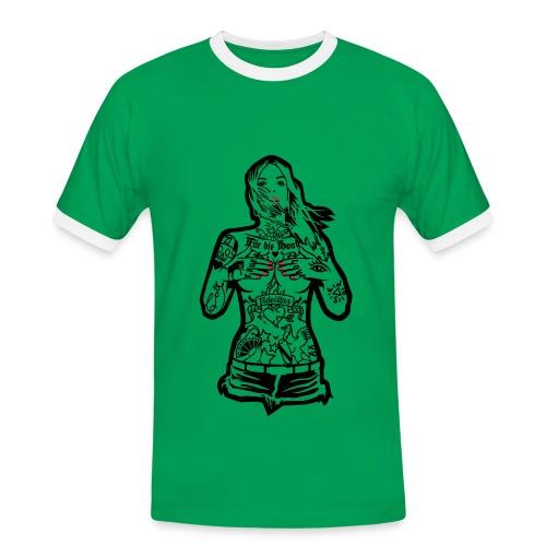 T-shirt contraste Stylé - T-shirt contrasté Homme