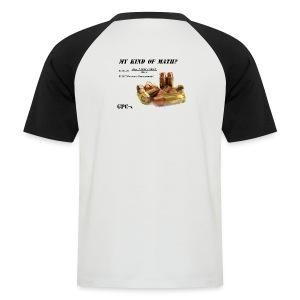 GPC Shirt - My Kind of Math - Deluxe - Männer Baseball-T-Shirt