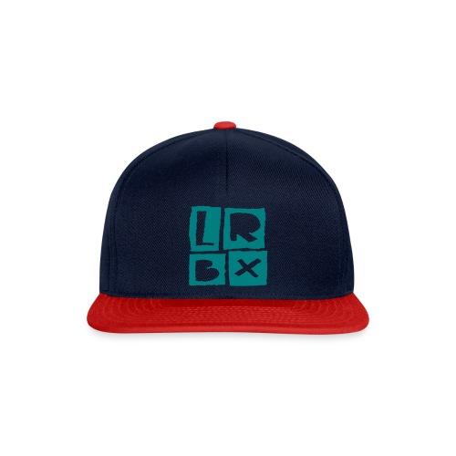 LRBX Cap Dark blue / turquoise - Casquette snapback