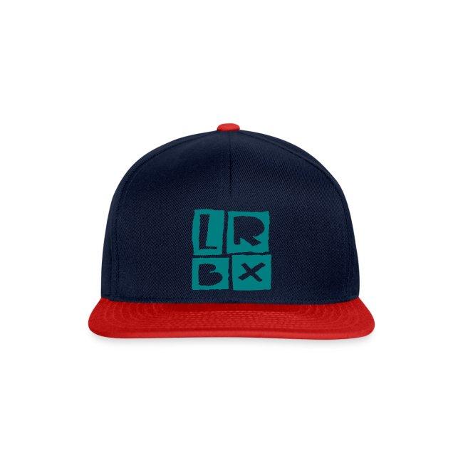 LRBX Cap Dark blue / turquoise