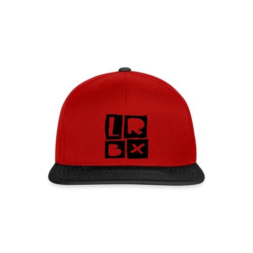 LRBX Cap Red / Black Logo - Casquette snapback
