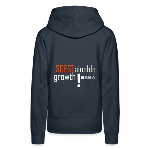 BBA SOESTainable growth - Women's Premium Hoodie