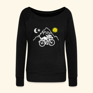 Albert Hofmann Women's long sleeve top  - Women's Boat Neck Long Sleeve Top