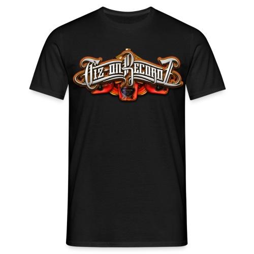 Tiz-on Recordz Emblem colors - T-shirt Homme