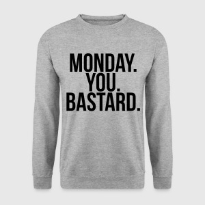 Monday you bastard Bluzy - Bluza męska