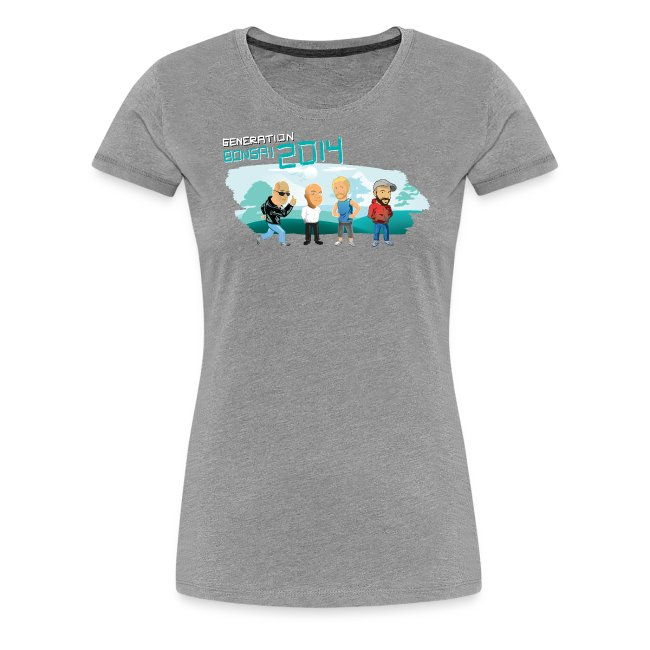 Generation Bonsai girlyshirt