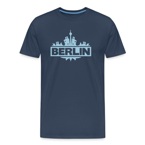 Berlin - Herre premium T-shirt