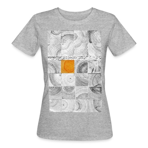 Tranches de Bois - T-shirt bio Femme