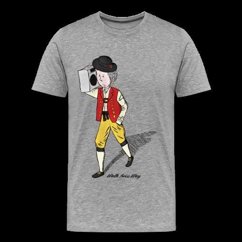 Walk Swiss Way - Men's Premium T-Shirt