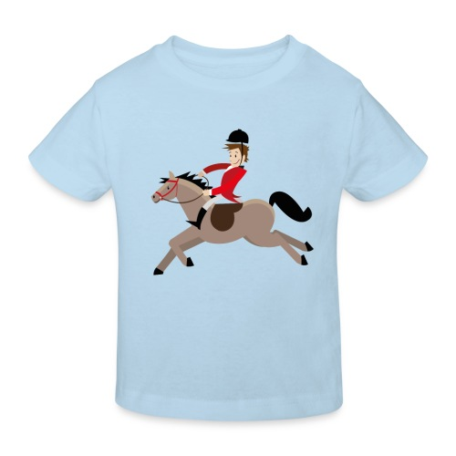 Hoppe, hoppe Reiter - Kinder T-Shirt kurzarm - Kinder Bio-T-Shirt